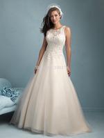 2015 Vestidos De Noiva Lace Vintage Wedding Dress Bridal Gown Bride Dresses Custom Size 2 4 6 8 10 12 14 16 18 20++