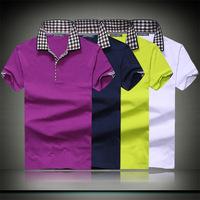 Autumn 2015 new short-sleeved men's  t-shirt men Korean men short sleeve t-shirt