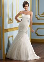 2015 Sexy Mermaid Wedding Dress Bridal Gown Bride Dresses Vestido De Noiva Custom Size 2 4 6 8 10 12 14 16 18 20++