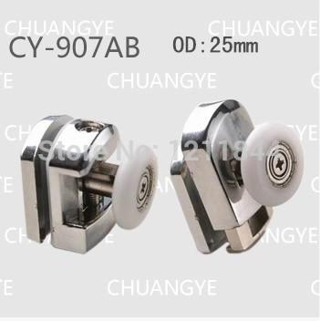 shower door rolr le OD 25MM shower room accessories pulley wheel sliding door(China (Mainland))