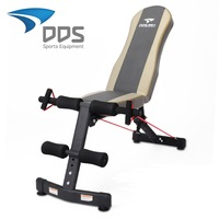 dumbbell bench crunches  sit up benches home fitness equipment abdominal exerciser machine for men women