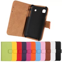 2014 New Flip Leather Cover Housing Case for Samsung Galaxy s i9000 9000 Phone Cases