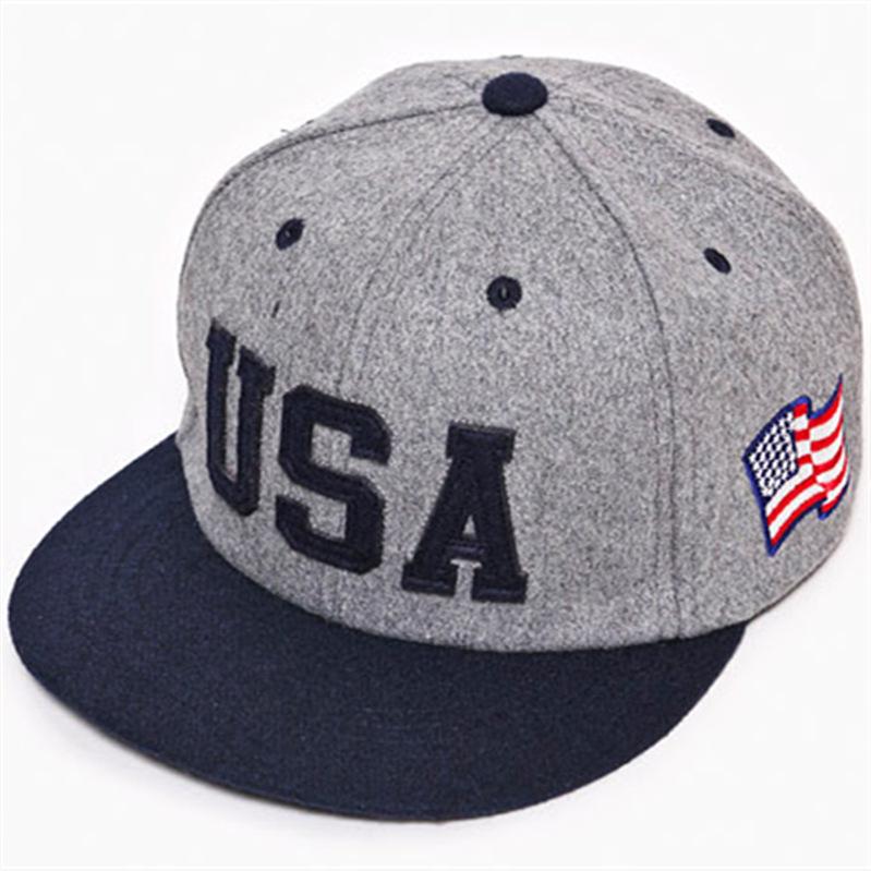 2014 new USA flag adjustable baseball snapback hats for men fashion sports hip hop cotton mens street headwear 3 colors cheap(China (Mainland))