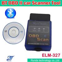 Wholesales OBD 2 Code Reader Scanner ELM 327 Bluetooth Car Diagnostic Interface Scan Tool