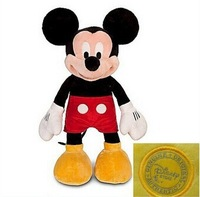 Free shipping 43 cm Mickey Mouse Clubhouse plush toy Mickey plush toy Minnie Mouse boyfriend toy for children gift