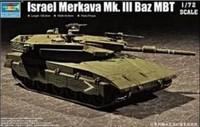 Trumpeter  07104 1/72 lsrael Merkava Mk. lll Baz MBT