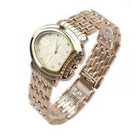 New Arrivals Women Watches Rose Gold Irregular Shape Diamond Fashion WristWatches 86014