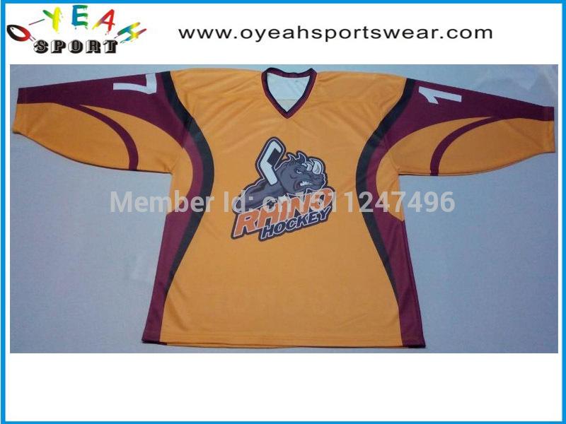 Canada team customized ice hockey jersey best sell sublimated ice Hockey Jerseys wear(China (Mainland))