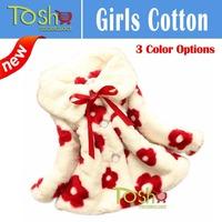 2014 Winter Hot Sweet Baby Toddlers Girls Faux Fur Fleece Lined Coat Kids Winter Warm Jacket Coat Free Shipping