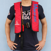 Advanced for mann er pullover type automatic inflatable life vest inflatable boat pirog clothing