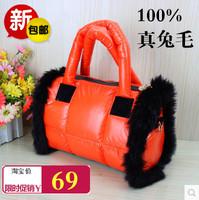 2014 winter down bags space handbag cotton women