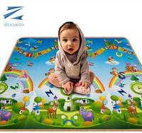 Crawling mat climb a pad eco-friendly thickening foam mats baby crawling blanket game pad single face 180 150 0.5