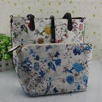 2014 new/women's PU leather handbags fashion/messenger shoulder/totes Composite bags designers famous brand