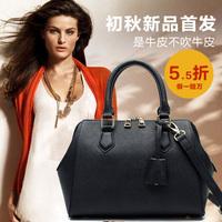 2014 cowhide shoulder bag card holder fashion cross-body handbag for commercial  women's cross handbag