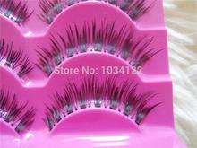New 5 Pairs Natural Eye Lash Long Thin Fake False Eyelashes Long Curling Eyelash Women Natural Eyelashes Makeup Accessoires a-15