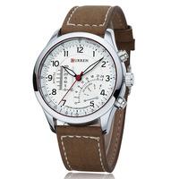 Big Discount Sale Curren Brand Men Fashion Watches Fake Thermometers Watches Men Dress Wristwatch Relogios Masculinos 8152