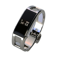 D8 Smartwatch Bluetooth Full steel Smart Bracelet Sync Wrist LED Digital Watch with Vibrate can answer phone for Smart phone