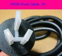New Original computer Phino Cables medical iso international bend the Power cord  Wires 3 meters 0.75