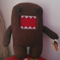 1 piece 28cm For Birthday Gift Funny Kawaii Cute High Quality Brown Plush domo-kun domokun domo kun Toy Doll Stuffed Animal