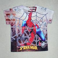Retial New Spiderman cartoon children baby boys t shirt brand Children Tops Tees Summer Wear Short Sleeve Children clothes