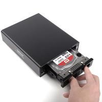 ORICO 3519SUS3-BK Aluminum USB 3.0/E-SATA 3.5 SATA External Hard Drive Enclosure