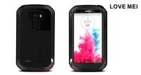 Combo Armor Love Mei Waterproof Aluminum Metal Case for LG G3 D850 D851 D855 LS990 Cover + Gorilla Glass + Flim + Stylus