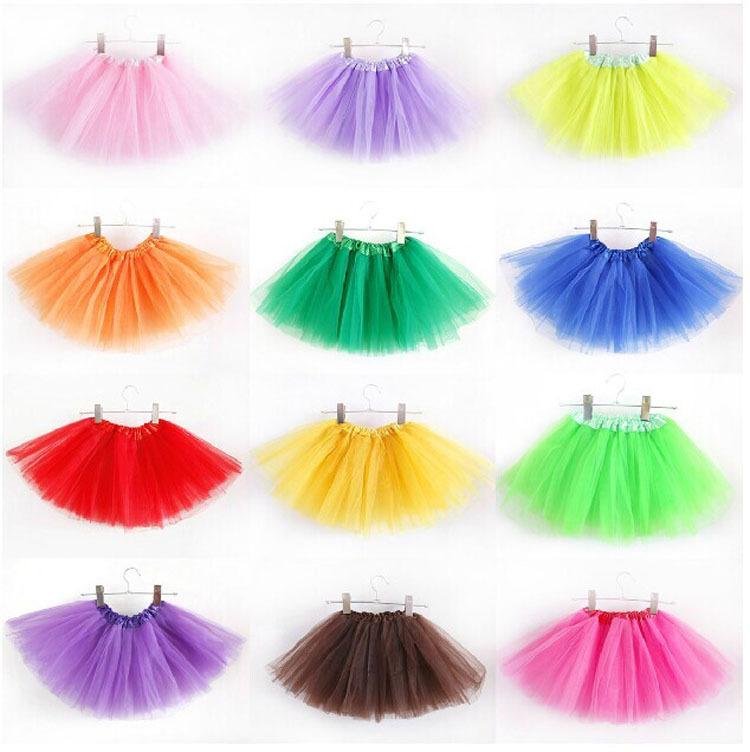 Girls Kids Tutu Party Ballet Dance Wear Skirt Pettiskirt Costume Free Shipping(China (Mainland))