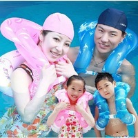 Life Vest For Children Kids Adults Inflatable Swimming Circle Intex Swimming  Floating Ring with InflatorFree/Drop Shipping