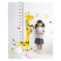 2014 Best-Selling  kindergarten children room the European and American wind cute giraffe monkey  wall stickers
