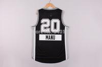 Free Shipping,2014 - 2015 Christmas Edition basketball jersey #20 Manu Ginobili Christimas basketball jersey