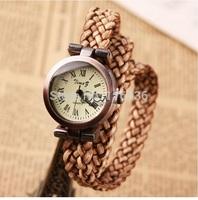 10pcs lot Fabric Lace Women Braided watch vintage wristwatch woman retro watch analog quartz dress watch fashion bracelet