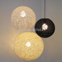 Diameter 40 Kadi Sen modern minimalist art hanging lamps lighting living room European-style garden rattan dining creative