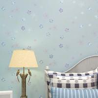 Cute Small Floral Wallpaper Baby Girls Boys Room Decor zk03 floral  papel de parede infantil de menina