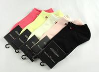 2014 New Brand Design women socks fashion candy colors bamboo casual sport women socks Free Shipping