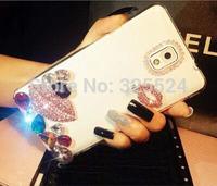 sex kiss 3D new luxury rhinestone bling cases For Samsung galaxy S5 S4 S3 i9600 I9500 rhinestone Case