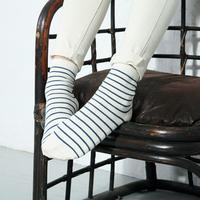 14 autumn and winter socks female candy color stripe women's all-match socks sweat absorbing short socks four seasons
