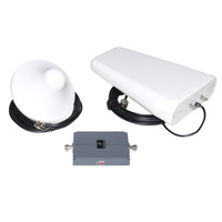 ALC AGC 1700MHz Cellphone Signal booster with Indoor Ceiling Antenna and Outdoor LPDA Antenna
