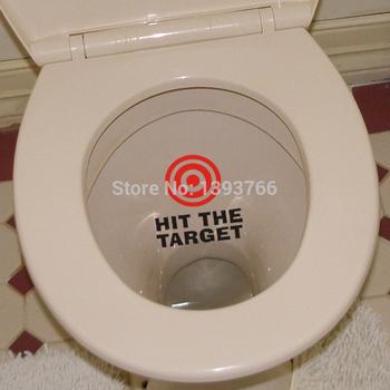 Koop druk op de doelgroep waterdicht grappig wc badkamer muur sticker - Muur wc ...