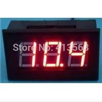 DC red Voltmeter 5-120V for Electric Car 12v 24V 36V 48V 60V 72V 96V  Panel Meter size:48 x 29 x 22 mm  #0035