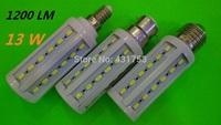 NEW High Bright 13W LED lamps E27 B22 E14 44 LEDs 110V/220V/AC High Quality 5630/5730 SMD Corn LED Bulb Ceiling light 10pcs/lot