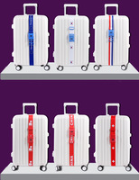 Free Shipping Useful National Flag Series Luggage lock, Luggage Strap,Travel Suitcase Secure Lock, 6 models available