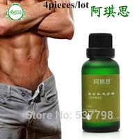 4pcs/lot aqisi Sex Products Men Penis Enlargement Essential Oil Male Kidney Maintenance Penis Massage Oil Penis Extender 30ml