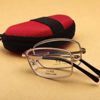 ZEST  Folding Brand  Fatigue Radiation Proof  Resin Ultra Light  Weight Men And Women Presbyopic Glasses