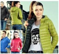 Sale!!! 5880 New 2014 Fashion Parkas Winter Female Down Jacket Women Clothing Winter Coat Color Overcoat Women Jacket Parka