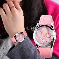 Free shipping 2015 fashion casual woman watch quartz Wristwatches 3 colors
