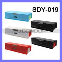 SDY-019 Original Nizhi Sardine HIFI Bluetooth Speaker FM Radio Wireless USB Amplifier Stereo Sound Box