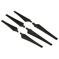 FC1245 12*4.5 Folding Carbon Nylon 3-Blade Propeller Prop CW/CCW 1-Pair for RC Multicopters