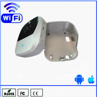 Newest Wifi doorbell work for smartphone support one way video and two-way audio call