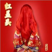 Fenfen wedding supplies bridal veil beautiful bride supplies hi pa cape the bride red scarf