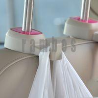 1 Pair Universal Auto Car Seat Back Headrest Luggage Bags Hanger Hook Holder Organizer Auto Fastener & Clip